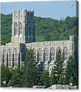 A View Of The Cadet Chapel At The United States Military Academy Acrylic Print