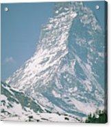 A View Of The Majestic Matterhorn Acrylic Print