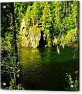 A View Of The Seleway River Acrylic Print