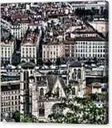 A View Of Vienne France Acrylic Print