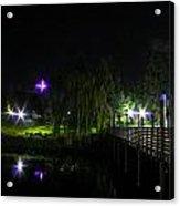 A Walk At Night Acrylic Print