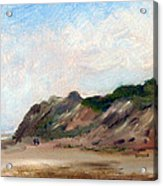 A Walk Down Cahoon Hollow Beach Acrylic Print