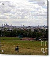 A Walk In London Acrylic Print