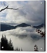 A Walk In The Clouds Acrylic Print