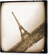 A Walk Through Paris 11 Acrylic Print