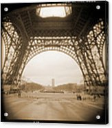 A Walk Through Paris 14 Acrylic Print by Mike McGlothlen