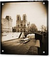 A Walk Through Paris 22 Acrylic Print by Mike McGlothlen
