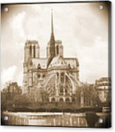 A Walk Through Paris 25 Acrylic Print by Mike McGlothlen