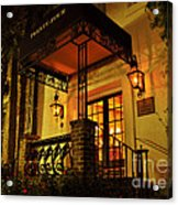 A Warm Summer Night In Charleston Acrylic Print