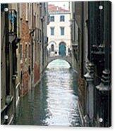 A Waterway Of Venice  Acrylic Print