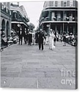 A Wedding In Jackson Square Acrylic Print