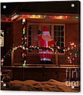 A Welcome From Santa Acrylic Print