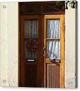A Welcoming Door Acrylic Print