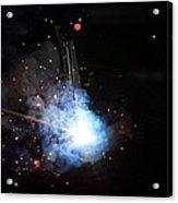 A Welder's Universe Acrylic Print