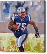 A Well Conditioned Athlete Acrylic Print by Laura Lee Zanghetti
