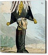 A Wellington Boot Or The Head Acrylic Print