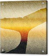 A Whales Tale Acrylic Print