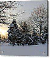 A White Winter's Morning Acrylic Print