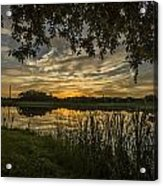 A Window To Sunset Acrylic Print