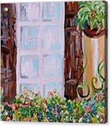 A Window View Acrylic Print