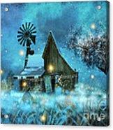 A Winter Fairytale Acrylic Print
