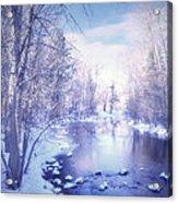 A Winter Reverie Acrylic Print