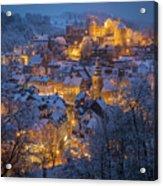 A Winter Tale Acrylic Print