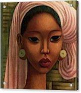 A Woman From Bali Acrylic Print