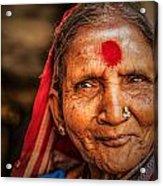 A Woman Of Faith Acrylic Print