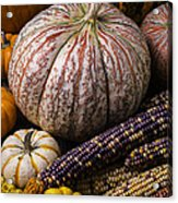 A Wonderful Autumn Harvest Acrylic Print