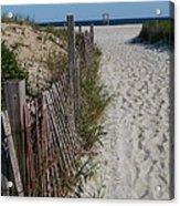 A Wonderful Beachday On Cape Cod Acrylic Print
