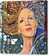 A Work In Progress Acrylic Print by Phyllis Dunn