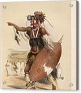 A Zulu Acrylic Print
