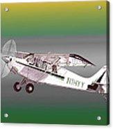A1a Husky Aviat Airplane Acrylic Print