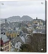 Aalesund From Above Acrylic Print