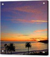 Abalone Cove Sunset Acrylic Print