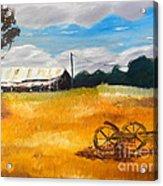 Abandon Farm Acrylic Print