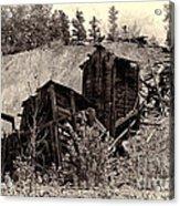 Abandon Montana Mine Acrylic Print