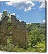 Abandon Stone House 2 Acrylic Print