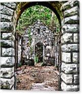 Abandoned Bath House  Ver 2 Acrylic Print