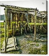 Abandoned Bird Observatory  Acrylic Print