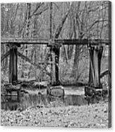 Abandoned Bridge Acrylic Print