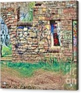 Abandoned Building Acrylic Print