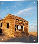 Abandoned - California Desert Acrylic Print