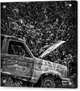 Abandoned Car Road To Hana Maui Acrylic Print