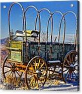Abandoned Covered Wagon Acrylic Print