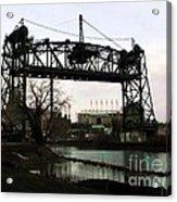 Abandoned Eagle Ave Bridge Acrylic Print