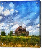 Abandoned Farm 03 Photo Art Acrylic Print