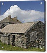 Abandoned Farm In Ireland Acrylic Print