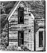 Abandoned Farmhouse - Alstown - Washington - May 2013 Acrylic Print